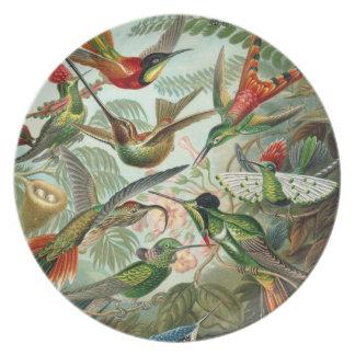 Heavenly Hummingbirds Plate