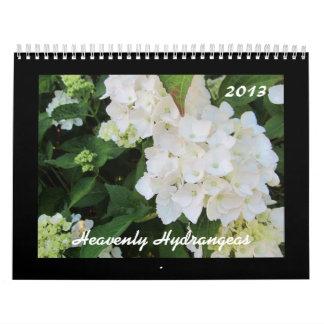 Heavenly Hydrangeas 2013 Wall Calendar