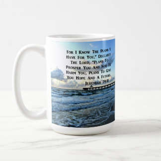 HEAVENLY JEREMIAH 29:11 SCRIPTURE DESIGN COFFEE MUG