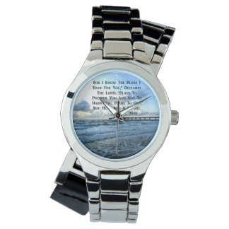 HEAVENLY JEREMIAH 29:11 SCRIPTURE DESIGN WATCH