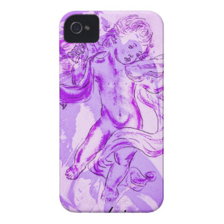 Heavenly music, glad Christmas iPhone 4 Case-Mate Cases