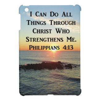 HEAVENLY PHILIPPIANS 4:13 SCRIPTURE DESIGN iPad MINI CASE