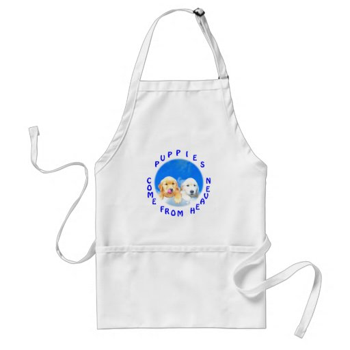 Heavenly Puppies T-Shirts and Novelty Gifts Aprons