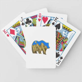 Heavenly Stroll Bicycle Playing Cards