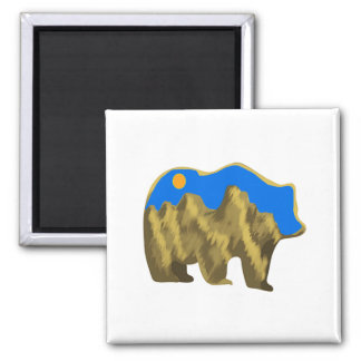 Heavenly Stroll Square Magnet