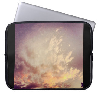 Heavenly Sunset Clouds Electronic Bag Computer Sleeves