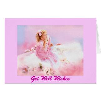 HeavenlyAngels...Get Well Soon Greeting Card