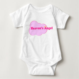 Heaven's Angel - Girl Baby Bodysuit