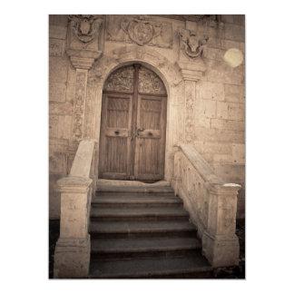 Heaven's door 17 cm x 22 cm invitation card