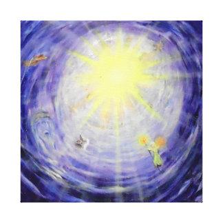 "Heaven's Light -24"" x 24"" Gallery Canvas Canvas Print"