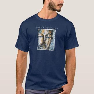 Heavily Meditated Buddha Art T-Shirt