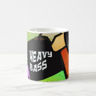 Heavy Bass Basic White Mug