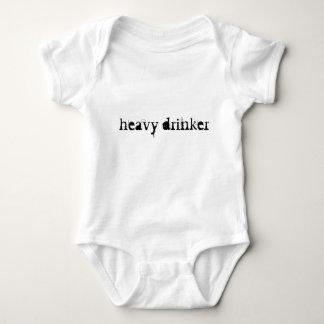 Heavy drinker Baby Baby Bodysuit