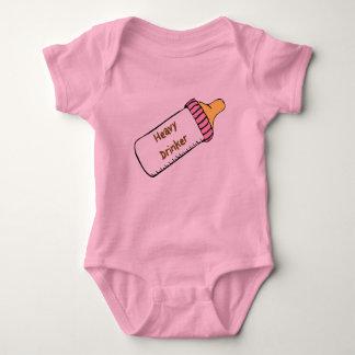 Heavy Drinker Baby Bodysuit