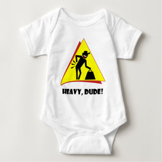 HEAVY DUDE 8 BABY BODYSUIT