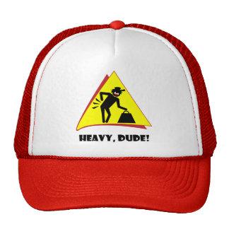 HEAVY DUDE 8 TRUCKER HATS