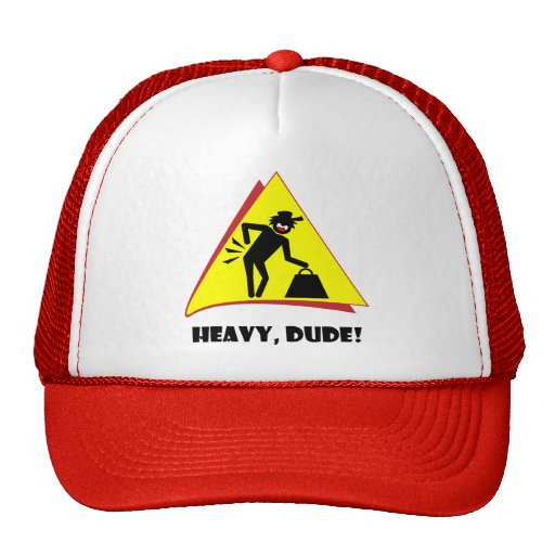 HEAVY DUDE 8 TRUCKER HATS