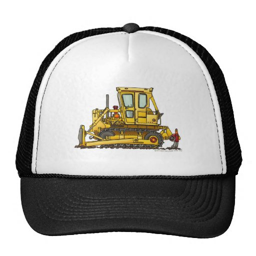 Heavy Duty Bulldozer Dirt Mover Construction Hats