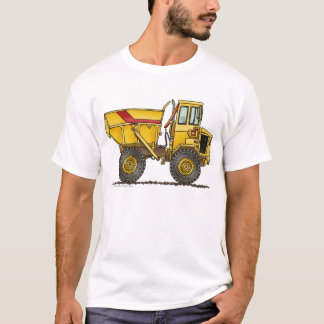 Heavy Duty Dump Truck Construction Apparel T-Shirt