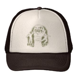 Heavy duty – shot put hats