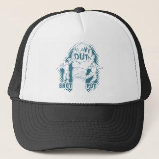 Heavy duty – shot put trucker hat