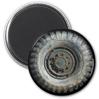 Heavy Duty Wheel 6 Cm Round Magnet