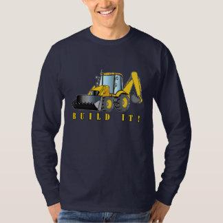 Heavy Equipment: Backhoe: Build It Shirts