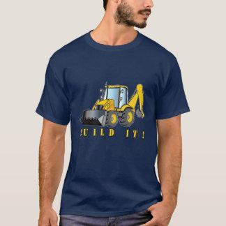 Heavy Equipment: Backhoe: Build It T-Shirt