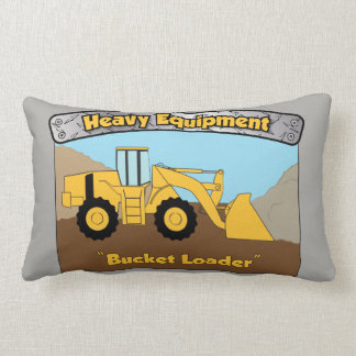 Heavy Equipment Bucket Loader Pillow