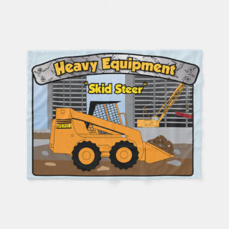 Heavy Equipment Bucket Loader Skid Steer blanket