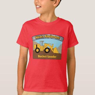 Heavy Equipment Bucket Loader T-Shirt