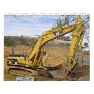 Heavy Equipment calendar