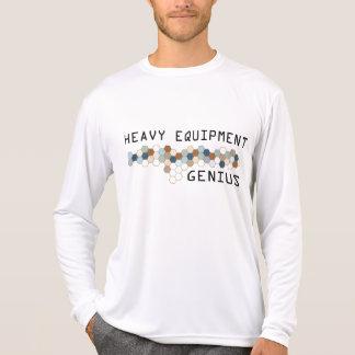 Heavy Equipment Genius Tshirt