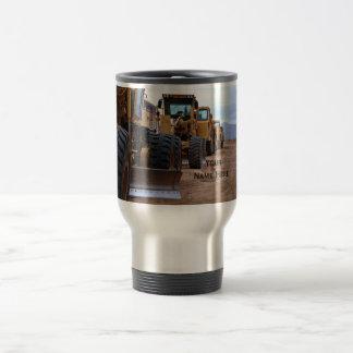 Heavy Equipment Image Travel Mug