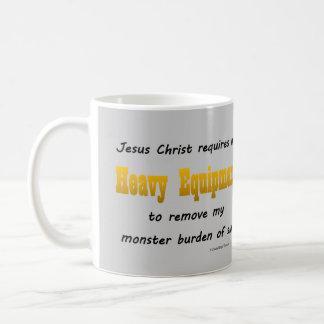 heavy equipment coffee mug