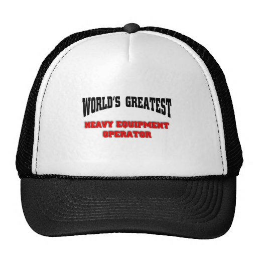 Heavy equipment operator hat