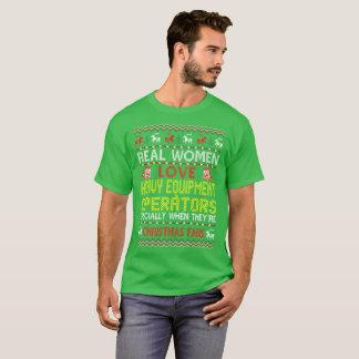 Heavy Equipment Operators Christmas Ugly Sweater