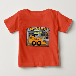 Heavy Equipment Skid Steer Kids Tee