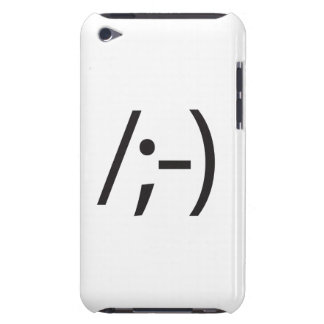 heavy eyebrows.ai iPod Case-Mate case