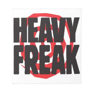 Heavy Freak Scratch Pads