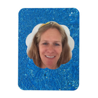 Heavy Frost Cloud Photo Frame Magnet