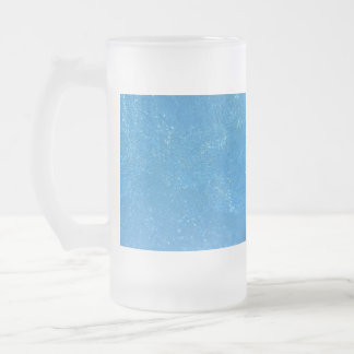 Heavy Frost Frosted Glass Beer Mug