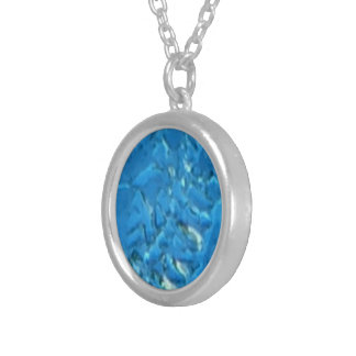 Heavy Frost Silver Plated Necklace