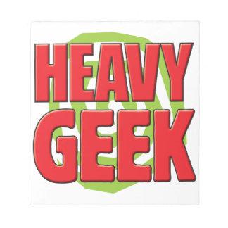 Heavy Geek Memo Note Pad