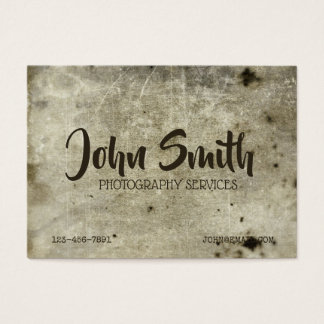 Heavy Grunge Background Rough distressed Ancient Business Card