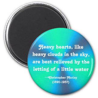 Heavy hearts - magnet