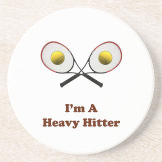 Heavy Hitter Tennis Coaster