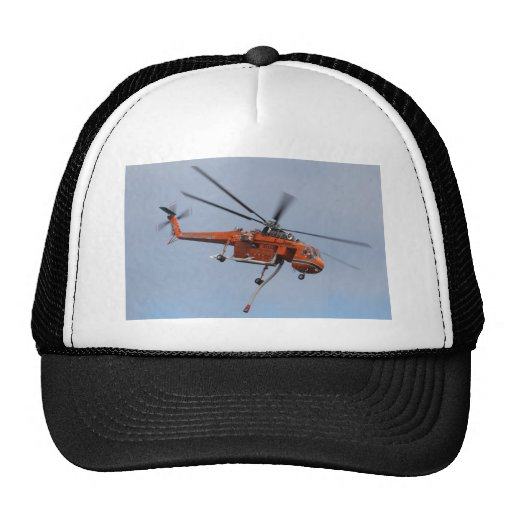HEAVY LIFTER HELICOPTER TRUCKER HATS