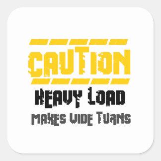 Heavy Load Square Sticker