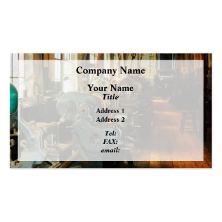 Heavy Machine Shop Pack Of Standard Business Cards